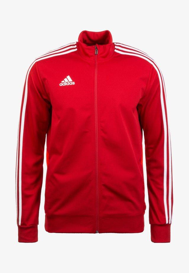 TIRO 19 TRAINING TRACK TOP - Training jacket - red
