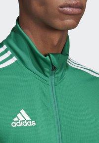 adidas Performance - TIRO 19 TRAINING TRACK TOP - Training jacket - green - 5
