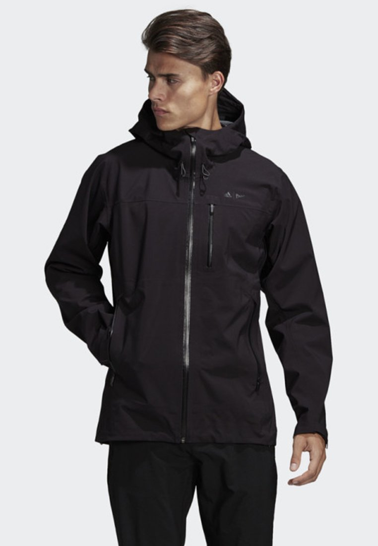 adidas Performance - PARLEY THREE-LAYER 2.0 JACKET - Impermeabile - black