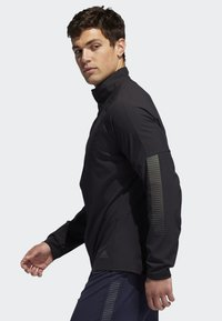 adidas Performance - RISE UP N RUN JACKET - Sportovní bunda - black - 3