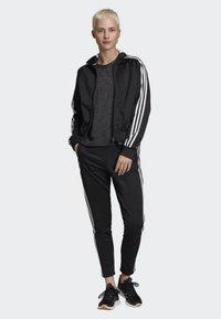 adidas Performance - ID 3-STRIPES SNAP TRACK TOP - Träningsjacka - black - 1