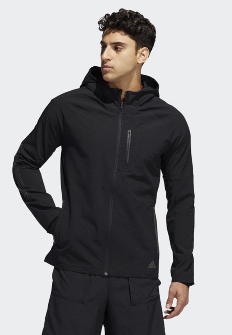 adidas Performance - RISE UP N RUN WINTER JACKET - Giacca outdoor - black