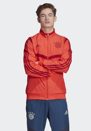 FC BAYERN PRESENTATION JACKET - Training jacket - red