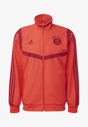 FC BAYERN PRESENTATION JACKET - Training jacket - red