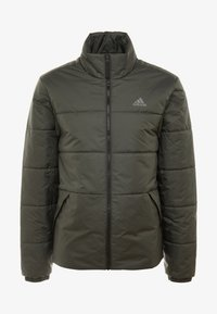 adidas Performance - Outdoorová bunda - legend earth - 4