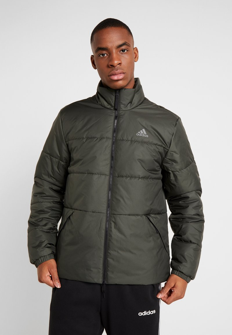 adidas Performance - Outdoorová bunda - legend earth