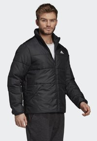 adidas Performance - BSC 3-STRIPES INSULATED JACKET - Vinterjacka - black - 4