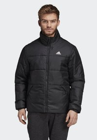 adidas Performance - BSC 3-STRIPES INSULATED JACKET - Chaqueta de invierno - black - 0
