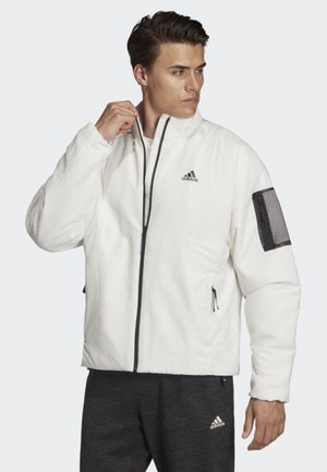 BACK-TO-SPORT LINED INSULATION JACKET - Juoksutakki - White