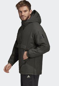 adidas Performance - INSULATED ANORAK - Veste coupe-vent - green - 3
