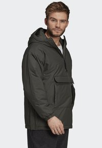 adidas Performance - INSULATED ANORAK - Veste coupe-vent - green - 4