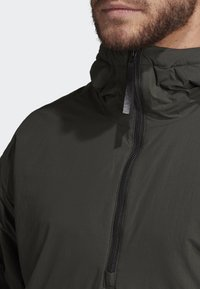 adidas Performance - INSULATED ANORAK - Veste coupe-vent - green - 7