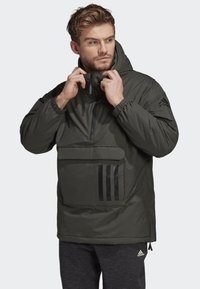 adidas Performance - INSULATED ANORAK - Veste coupe-vent - green - 0