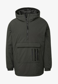 adidas Performance - INSULATED ANORAK - Veste coupe-vent - green - 8