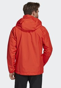 adidas Performance - AX JACKET - Regenjas - orange - 2