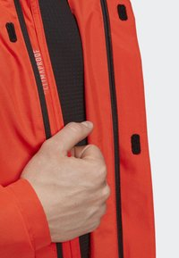 adidas Performance - AX JACKET - Regenjas - orange - 5