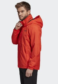 adidas Performance - AX JACKET - Regenjas - orange - 3