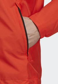 adidas Performance - AX JACKET - Regenjas - orange - 6