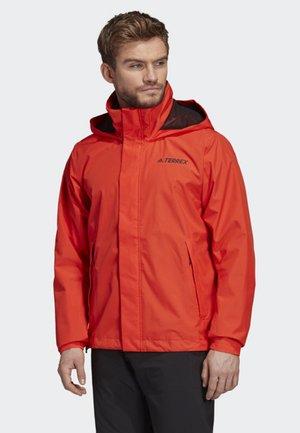 AX JACKET - Regenjacke / wasserabweisende Jacke - orange