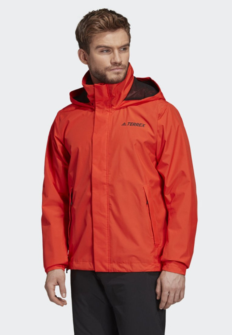 adidas Performance - AX JACKET - Regenjas - orange