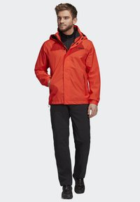 adidas Performance - AX JACKET - Regenjas - orange - 1