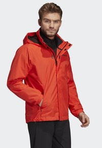 adidas Performance - AX JACKET - Regenjas - orange - 4