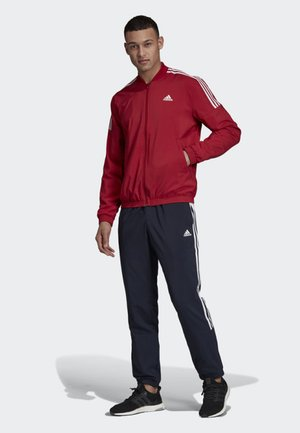 LIGHT WOVEN TRACKSUIT - Survêtement - red