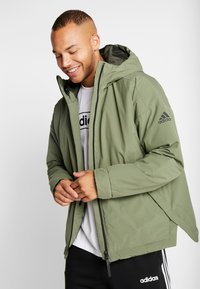 adidas Performance - URBAN INSULATED  - Veste d'hiver - leggrn - 0