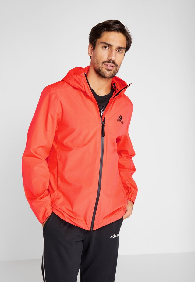 3-STRIPES RAIN.RDY - Impermeable - red