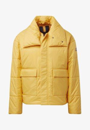 BIG BAFFLE JACKET - Vinterjakke - yellow