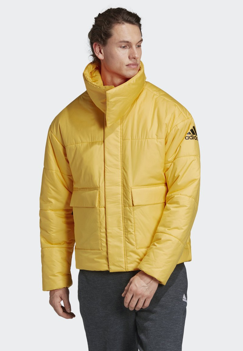 adidas Performance - BIG BAFFLE JACKET - Winterjacke - yellow