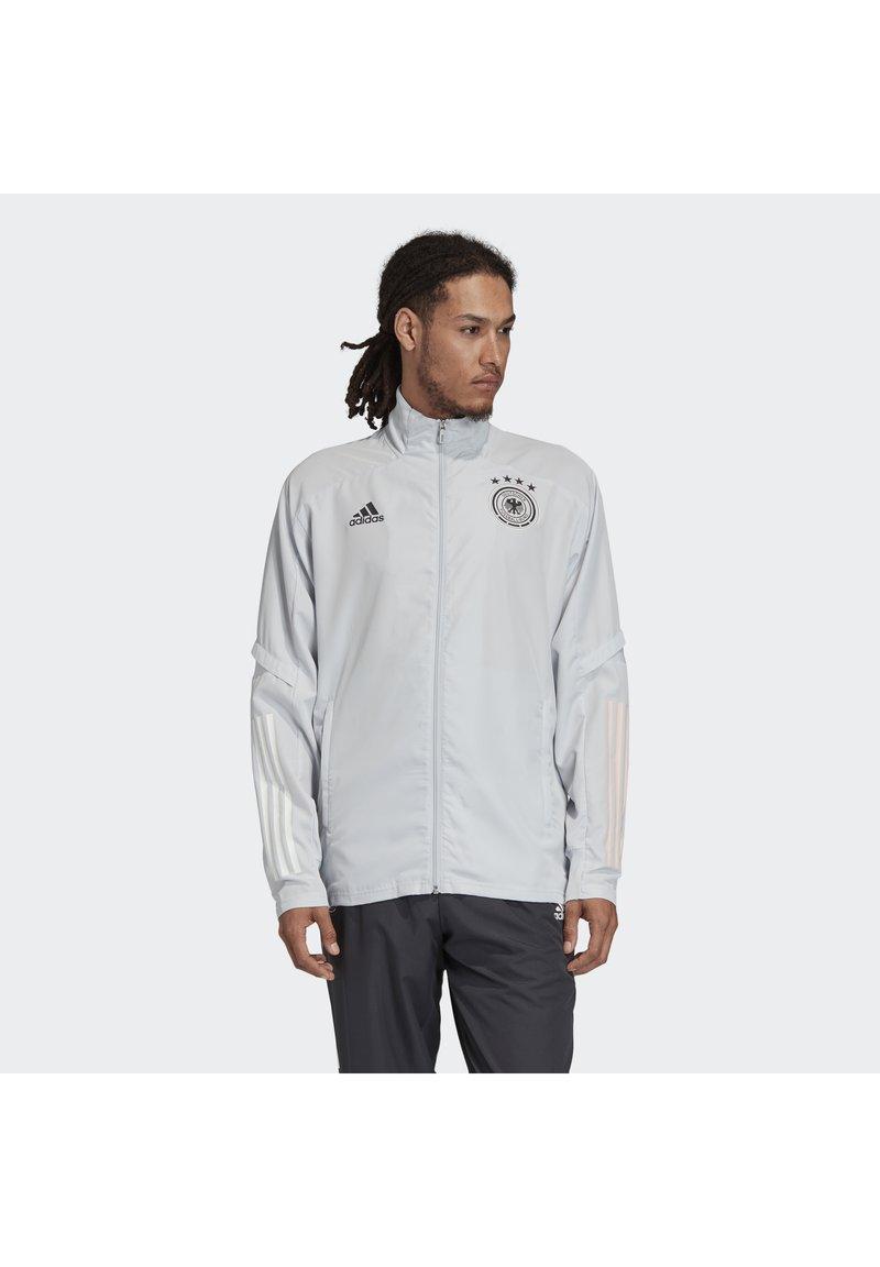 adidas Performance - DEUTSCHLAND DFB PRÄSENTATIONSJACKE - Trainingsvest - grey