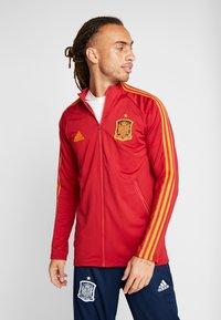 adidas Performance - SPAIN FEF ANTHEM JACKET - Sportovní bunda - red - 0