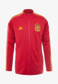 adidas Performance - SPAIN FEF ANTHEM JACKET - Sportovní bunda - red - 4