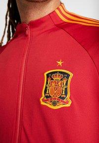 adidas Performance - SPAIN FEF ANTHEM JACKET - Sportovní bunda - red - 5