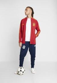 adidas Performance - SPAIN FEF ANTHEM JACKET - Sportovní bunda - red - 1