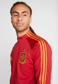 adidas Performance - SPAIN FEF ANTHEM JACKET - Sportovní bunda - red - 3
