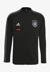 adidas Performance - DEUTSCHLAND DFB ANTHEM JACKET - Trainingsvest - black - 2