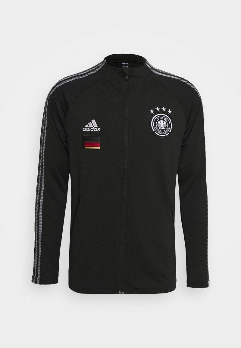 adidas Performance - DEUTSCHLAND DFB ANTHEM JACKET - Trainingsvest - black