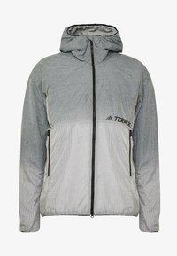 adidas Performance - TERREX WINDWEAVE LIGHT  - Blouson - grey four/white - 4