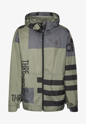 URBAN ALLOVER PRINT WIND.RDY  - Outdoor jacket - green