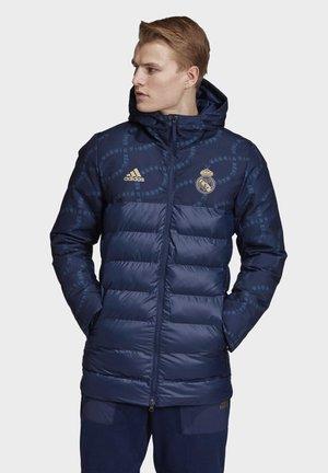 REAL MADRID SEASONAL SPECIAL PADDED JACKET - Vereinsmannschaften - blue