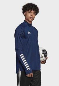 adidas Performance - CONDIVO 20 TRAINING TOP - Sports jacket - blue - 3