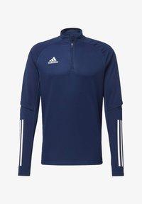 adidas Performance - CONDIVO 20 TRAINING TOP - Sports jacket - blue - 7