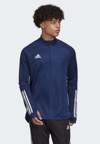 adidas Performance - CONDIVO 20 TRAINING TOP - Sports jacket - blue - 0