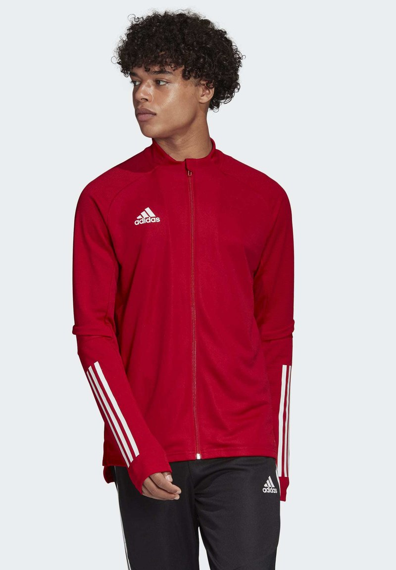 adidas Performance - CONDIVO 20 TRAINING TRACK TOP - Sports jacket - red