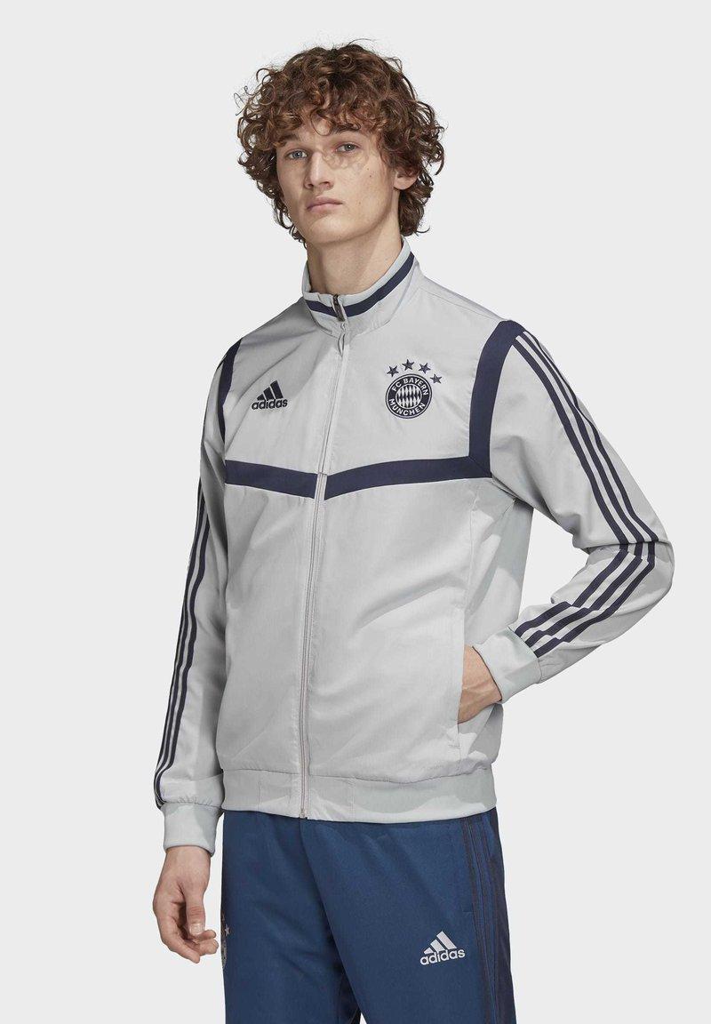 adidas Performance - FC BAYERN PRESENTATION JACKET - Sports jacket - gray