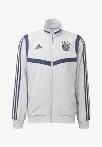 adidas Performance - FC BAYERN PRESENTATION JACKET - Sports jacket - gray - 6