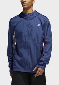 adidas Performance - OWN THE RUN HOODED WINDBREAKER - Veste coupe-vent - tech indigo - 4