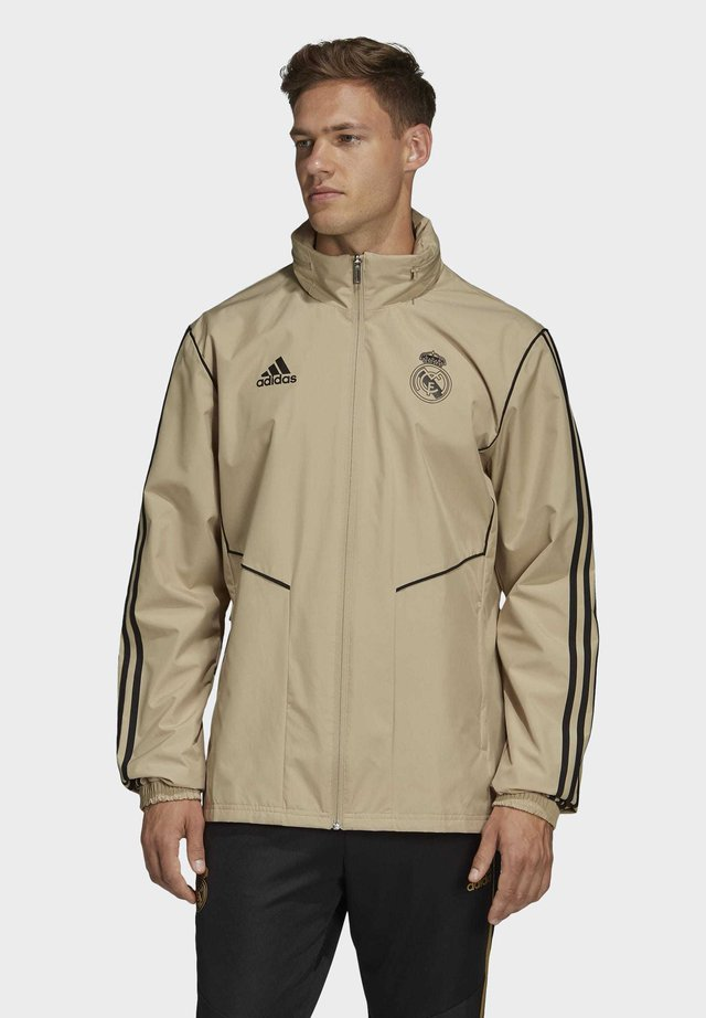 REAL MADRID ALL-WEATHER JACKET - Pelipaita - gold